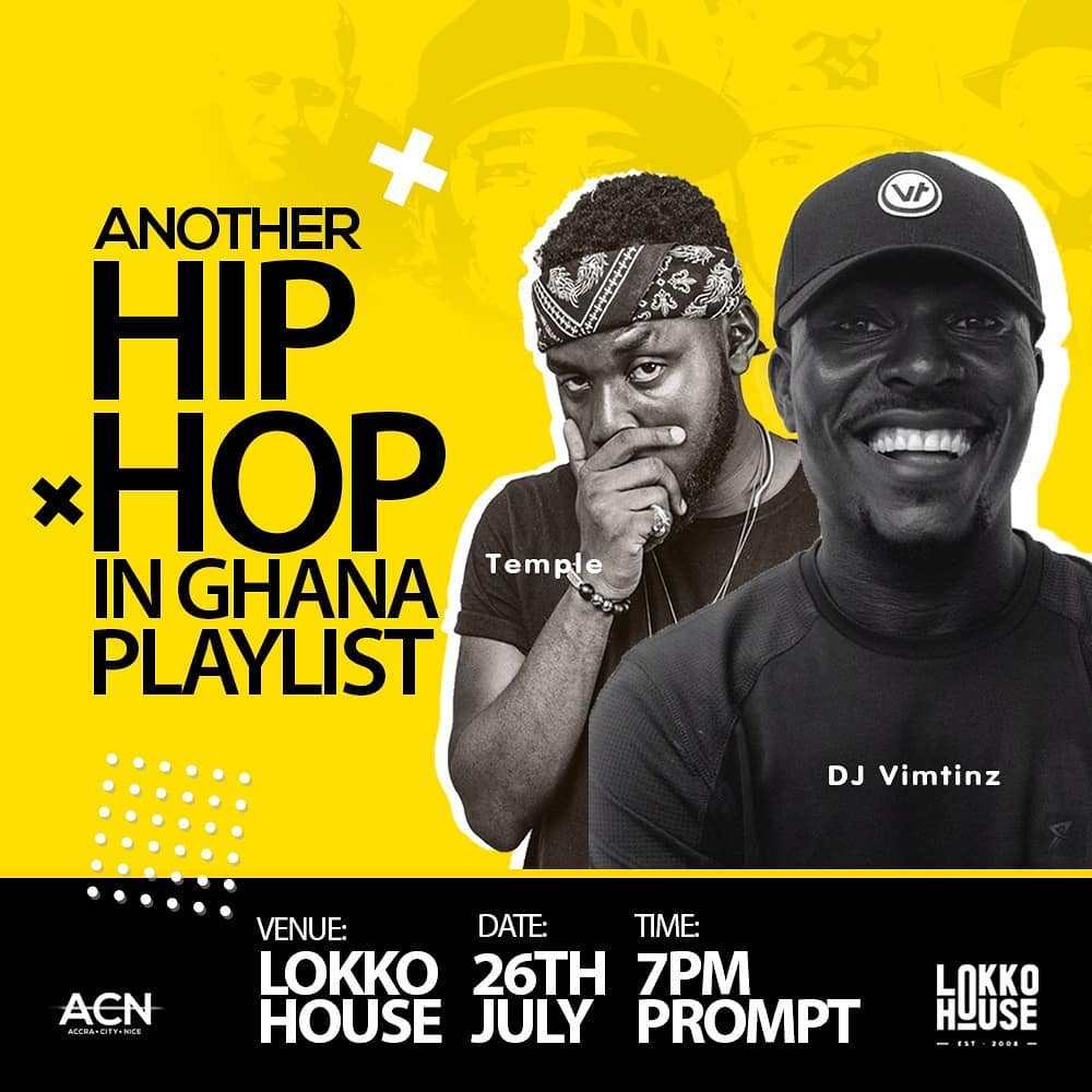 Another Hip Hop in Ghana Playlist feat  DJ Vimtinz & Temple